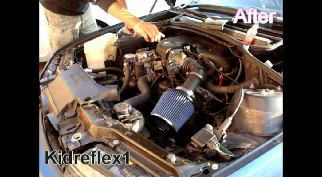 Bmw E46 316i High Induction Air Filter Youtube