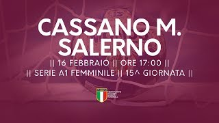 Serie A1F [15^]: Cassano Magnago - Salerno 23-27