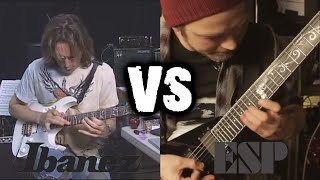 IBANEZ VS LTD / ESP (Guitar Battle)