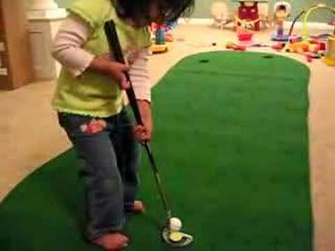 Annika Bahl- Will be better than Annika Sorenstam Video