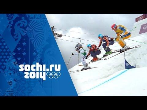 Canada's Marielle Thompson Wins Ski Cross Gold - Full Final | Sochi 2014 Winter Olympics
