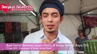 Bual Santai Bersama Iqram Dinzly di Bazar Terbaik Raya TV3