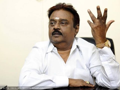 Vijayakanth is now on Twitter | Election Titbits 02052016