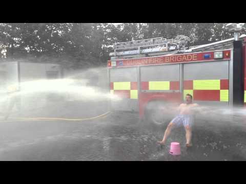 Cian Healy ALS/MND ice bucket challenge