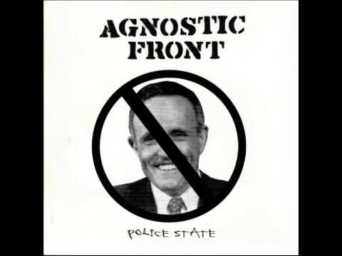 Agnostic Front - Police State