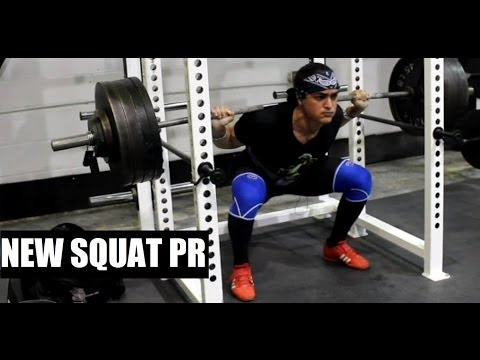 ANOTHER (BIGGER) SQUAT PR: Leg Training 06.24.14 Image 1