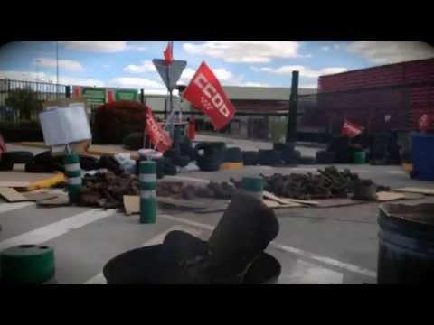 Coca cola Spain Protest Barricadas Protesta Manifestación España Madrid
