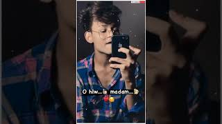 Oo Hello Madam Is Galatfayami Me To Whatsapp Status | ❤️Touching Line | Love❤️ | It's Alone Status
