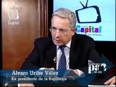 Entrevista a Álvaro Uribe Vélez 19-09-2012