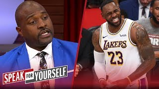 Marcellus Wiley on LeBron's MVP odds and whether Rockets can make it work | NBA | SPEAK FOR YOURSELF