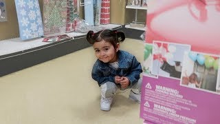 ELLE WENT POO POO IN THE STORE!!!
