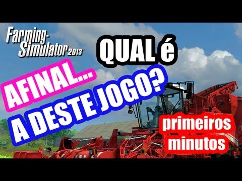 E afinal, qual  a desse jogo? - Farming Simulator 2013?