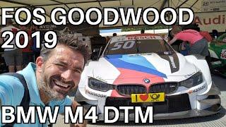 BMW M4 DTM en FOS Goodwood 2019