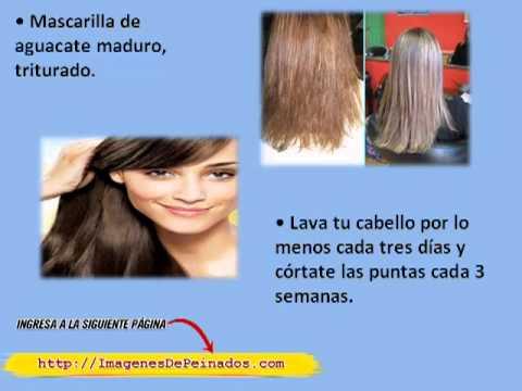 Como curar la cabeza a la caída de los cabello