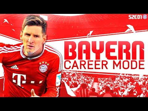 FIFA 16 Bayern Munich Career Mode - Signing Messi - S2E01