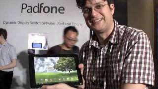 ASUS Padfone Hands On (phone-in-a-tablet)
