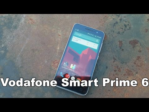Vodafone Smart Prime 6 Hands on Review [Greek]