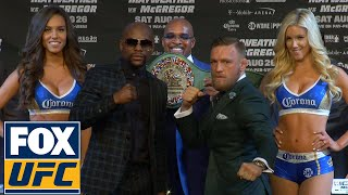Conor McGregor vs. Floyd Mayweather | FULL FINAL PRESS CONFERENCE