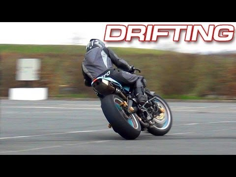 Drifting Motorbike - Mekatrix - Hot Pursuit ! [GoPro Onboard]