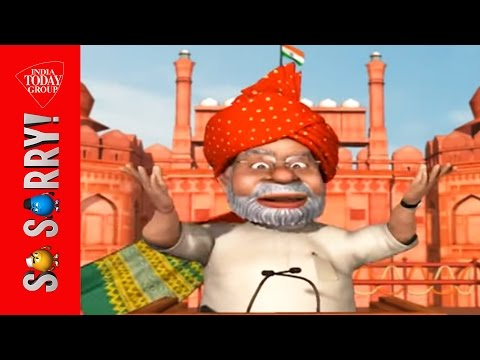 So Sorry ! - When Modi Reaches The Red Fort ! ! video