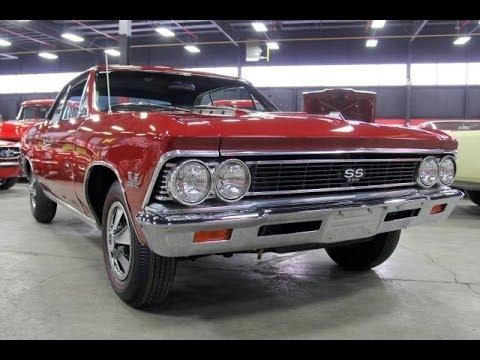 1966 Chevrolet Malibu SS 396 For Sale - YouTube