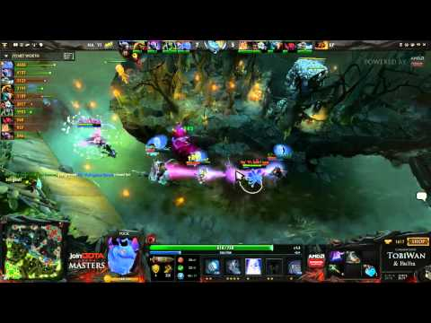 Na'Vi vs Kaipi Game 1 - joinDOTA DOTA 2 Masters Grand Final - TobiWan