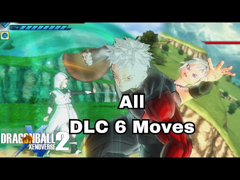 ALL Super Attacks In DLC 6 And How To Unlock | Dragon Ball Xenoverse 2 DLC 6 Showcase