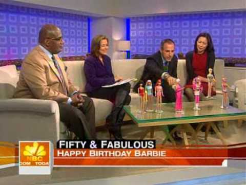 The Today Show: Plastic Is Forever Barbie s 50th Birthday