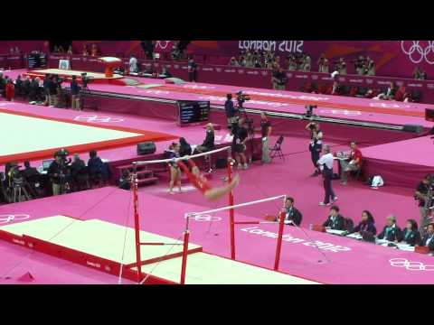 Beth Tweddle Olympics 2012 Qualification Uneven Bars UB