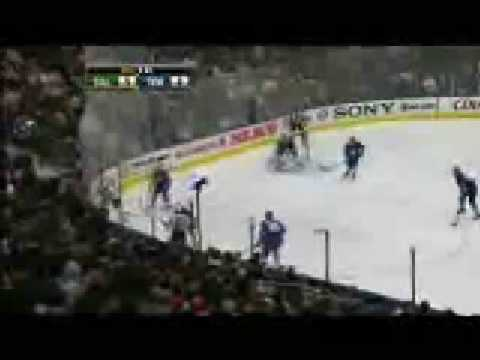 Krystofer Barch Goal # 3 12-23-08 Dallas Stars @ Toronto Maple Leafs