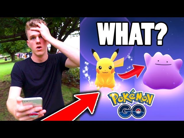 IT TURNED INTO DITTO?!? ($100 Pokemon Go Challenge)