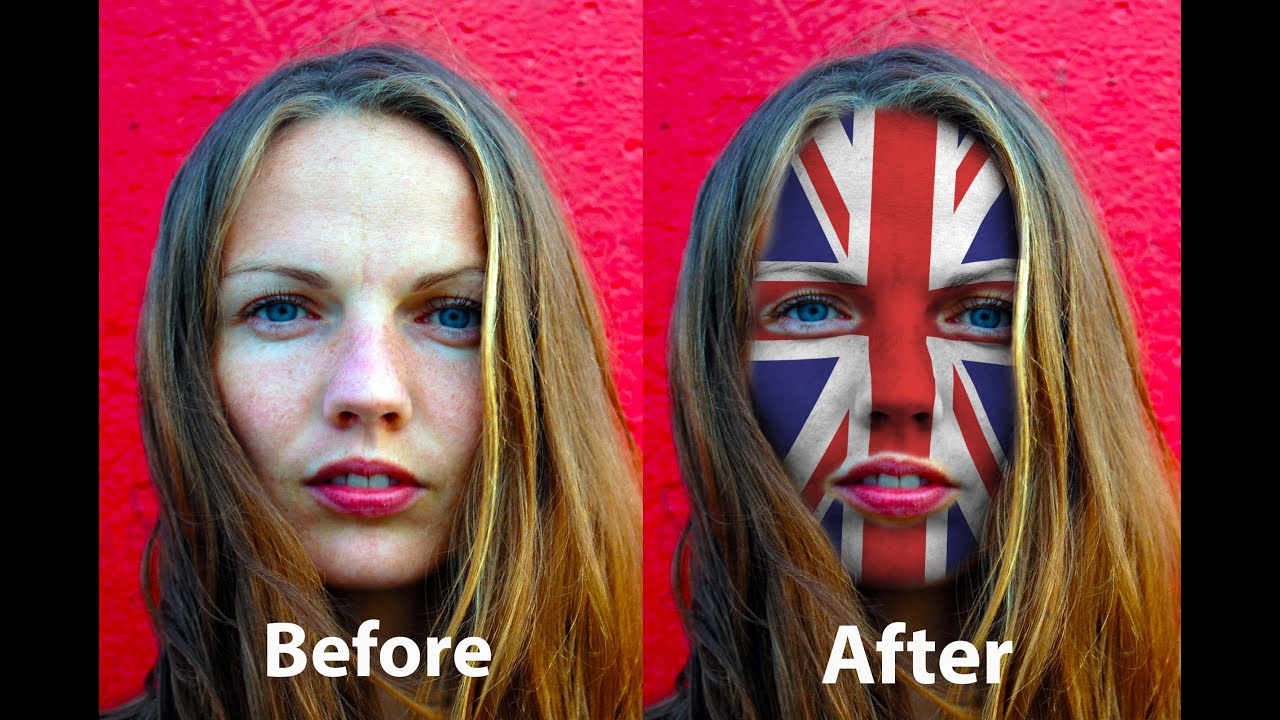 Face Painting Photoshop Tutorial