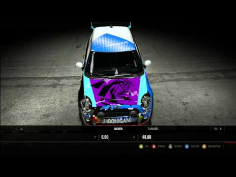 Forza 4 Speed art ken block mini cooper 2013