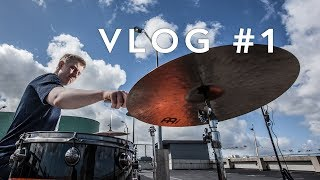The Life of a Professional Drummer - VLOG #1
