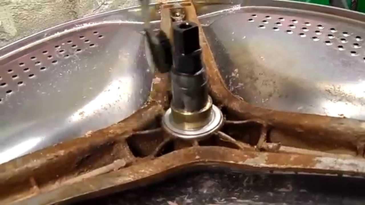 Замена подшипника в стиральной машине горенье своими руками
