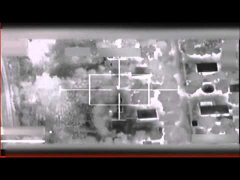 French Airstrike Gun Cam Footage From Operation Serval