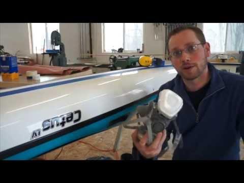 Kayak gelcoat cracks on boats