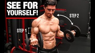 Can't Get Big Biceps? Just Do THIS!!