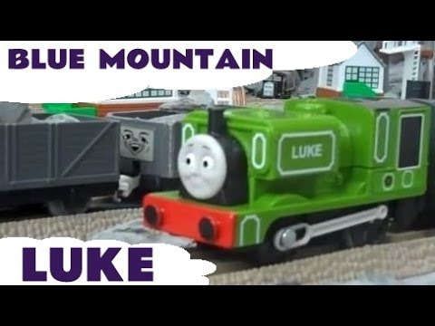 Trackmaster LUKE Thomas The Train from Blue Mountain Mystery Kids Toy Train Set Thomas The Tank