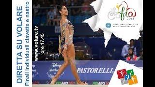 Mondiali Sofia - Highlights qualificazioni clavette e nastro. Finale in diretta su VOLARE
