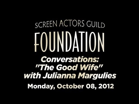 Conversations with Julianna Margulies of THE GOOD WIFE (Audio Only)