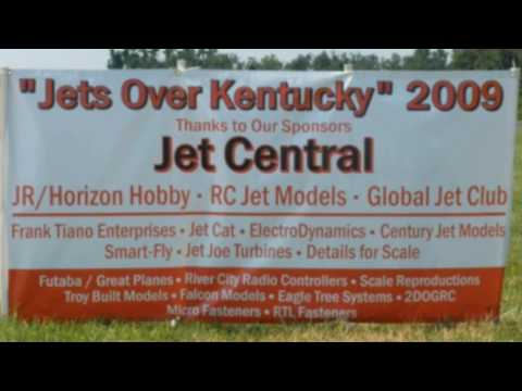 Kentucky jets 2009 R/C Airshow Lebanon Part I