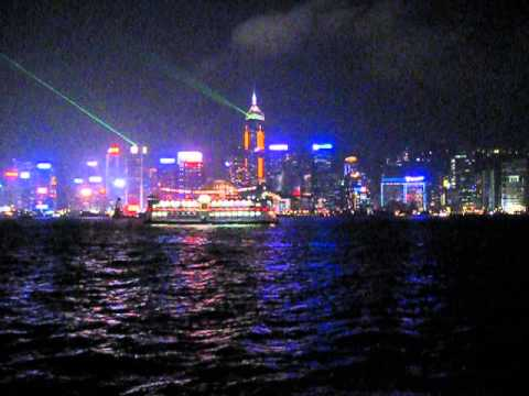 Hong Kong -Daily Skyscraper Lightshow