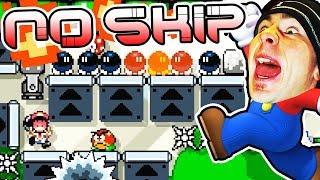 THE KAIZO RABBIT HOLE // SUPER EXPERT NO SKIP Super Mario Maker