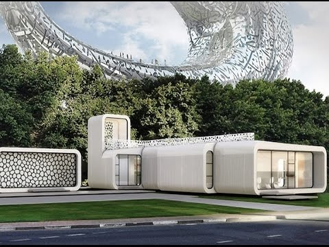 Dubai to Build World's First 3D Printed Office