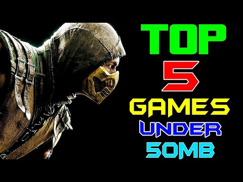 TOP 5 ATTRACTIVE GAMES UNDER 50MB 2018