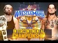 Dean Ambrose vs Baron Corbin | Wrestlemania 33 (Highlights)