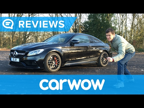 Mercedes-AMG C63 Coupe 2017 review - man vs machine   Mat Watson Reviews