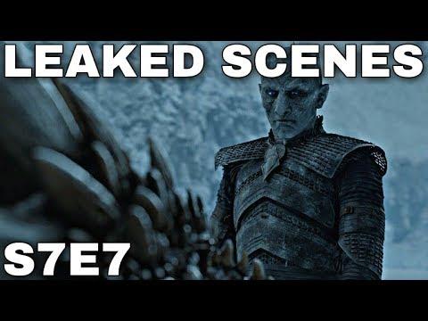 Season 7 Episode 7 Leaked Scenes Game Of Thrones Season