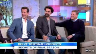 Interview with The Men Of Desperate Housewives